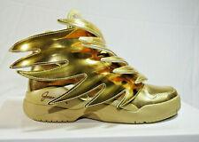 Adidas JEREMY SCOTT JS WINGS 3.0 GOLD Doré - B35651 Size 5,5 US 5 UK 38 EUR