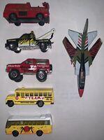 Lot Of 6 Matchbox Cars 80s