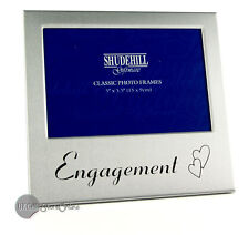 Engagement 2 hearts photo picture frame gift 72210