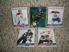 11 CARD LOT (bv $100) NHL HOCKEY HIGH END INSERTS...... free shipping