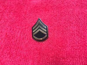 USA Armee First Class Sergeant Kragen Anstecker Pin Insignia Militär Veteran Hut