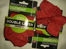 WRIGHTSOCK LIGHTWEIGHT MULTISPORT TAB SOCKS,  SIZE SMALL (FIT SHOE SZ 4-6, NWT