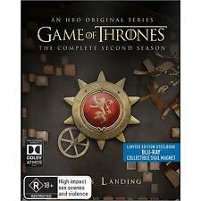 Game of Thrones Season 2 Blu-ray Steelbook Region B with magnet Brand New Sealed