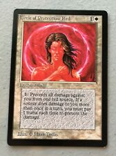 Mtg Fbb Circle of Protection Red French SP