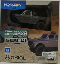 Axial 1/24 SCX24 1967 Chevrolet C10 4WD Truck Brushed RTR, Silver AXI00001T2