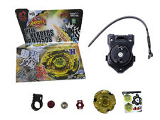 Hell Kerbecs Fusion Metal Master Rapidity 4D Beyblade BB99 + Power Launcher GO