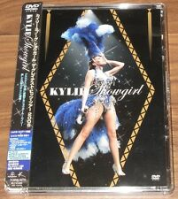 Kylie Minogue JAPAN PROMO issue DVD with obi SHOWGIRL LIVE more Kylie listed!