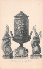 CPA - objets d'Arts - A. Vincent 4, rue des Beaux Arts PARIS -