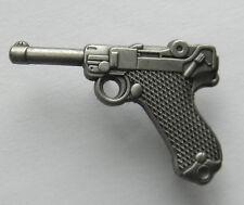 Luger P8 Pistol Handgun Lapel Pin 1.25 inches