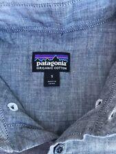 Patagonia Mens Short Sleeve Button Down Shirt Small
