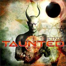 TAUNTED - 9 Sins (NEW*US POWER/THRASH METAL KILLER*HEATHEN*OVERKILL*V. RUMORS)