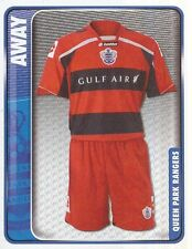 261 AWAY KIT ENGLAND QUEENS PARK RANGERS STICKER FL CHAMPIONSHIP 2010 PANINI