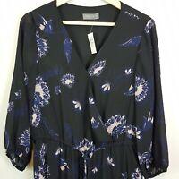 [ JACQUI.E ] Womens Floral Print Dress NEW $149.95   Size AU 14 or US 10