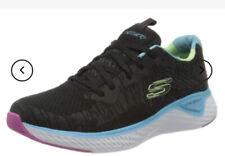 Womens Skechers Size 4uk Black/ Multi
