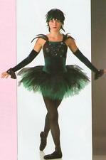 Nevermore Dance Costume Ballet Tutu w/Sleeves CHRISTMAS GREEN Child Small USA