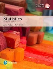 Statistics, (Global Edition) by James T. McClave