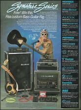 RHCP Flea 1995 Hohner Acoustic Bass Fernandes Mesa Boogie amp guitar rig ad