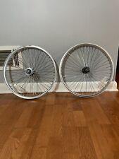 "Femco 20"" BMX Wheels Rims Old School Vintage/ Used"
