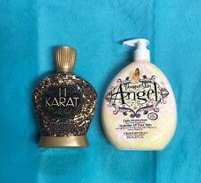 Designer Skin 14 KARAT GOLD RUSH Tanning Lotion + FREE 20oz ANGEL MOISTURIZER