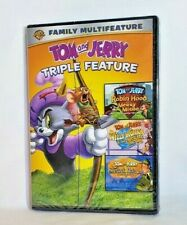 Tom and Jerry Triple Feature Robin Hood, Willy Wonka, Sherlock Holmes New Sealed