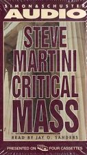 Critical Mass Steve Martini 1998 Cassette Abridged New Sealed Suspense Thriller