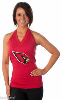 Couture Womens NFL Arizona Cardinals Blown Coverage Halter Top Shirt NWT