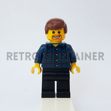 LEGO Minifigures - 1x twn081 - Townsperson - City Omino Minifig Set 10196