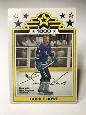 1977-78 O-Pee-Chee WHA #1 Gordie Howe - Beautiful Condition