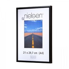 Nielsen Pearl Perspex 84x118 cm a0 MAT BLACK picture frame