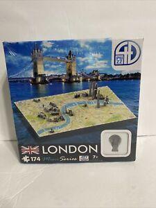 "New 4D Cityscape Puzzle. Mini Series. London. 174 pc.. 14""x8"". 70002."
