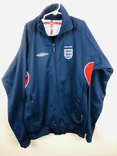 Umbro ENGLAND Football Soccer Jacket Windbreaker Size Youth Large