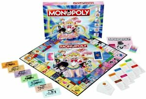 Sailor Moon Monopoly Board Game - NEW