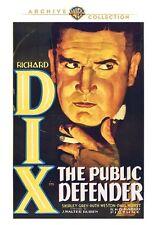 Public Defender DVD (1931) Richard Dieci, Shirley Grigio, Paul Hurst J.Walter