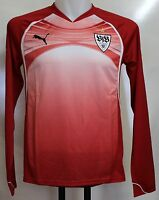 STUTTGART L/S RED TRAINING SHIRT BY PUMA ADULTS SIZE XL BRAND NEW WITH TAGS