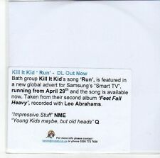 (EE747) Kill It Kid, Run - DJ CD