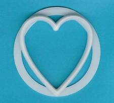 LARGE HEART SUGAR PASTE CUTTER for CAKE DECORATING