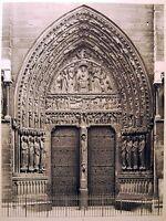 WWII Puerta Santa Anne Notre-Dame de Paris Fotos Emmanuel Sougez 1941