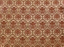 """Chenille Upholstery Treasure Morocco Damask Drapery home fabric by yard 57"""" Wide"""