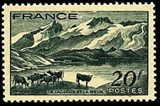"""FRANCE STAMP TIMBRE  N° 582 """" LAC LERIE DAUPHINE """" NEUF xx TTB"""