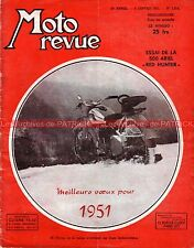 MOTO REVUE 1014 ARIEL 500 Red HUNTER ; Jacques CHARRIER ; REX MAC CANDLESS 1951
