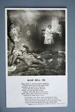 R&L Postcard: Bamforth Song Card Blue Bell No.2 Injured WW1 soldiers