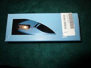 Azzaro Clipperpro Toe Nail Clipper Blue Rotatable 180 degree Swivel with Box