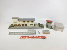 CI501-3# Faller H0 Holz-Modelle 121 Stellwerk+103 Bahnhof Schönblick, Bastler