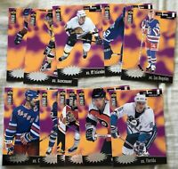 1996-97 Upper Deck Collector's Choice NHL Hockey Crash the Game card lot Gretzky