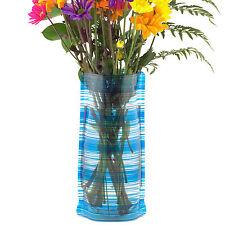 Flipo Bloomers Plastic Foldable Reusable Flower Vase, Various Colors