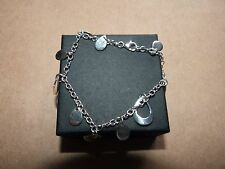 Ladies Sterling Silver Dainty Hangingl Bracelet
