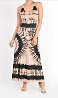New T-PARTY Tie Dye Cotton Tee Style Dress,  S M L