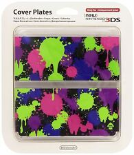 New Nintendo 3DS Cover Plate Splatoon Faceplate No 010 Sealed