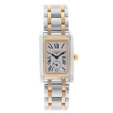 Longines DolceVita 20 Steel Rose Gold White Dial Lady Quartz Watch L5.155.5.71.7