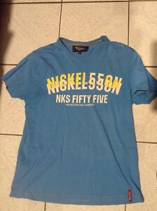 MENS NICKELSON SHORT SLEEVED T SHIRT BLUE SIZE L
